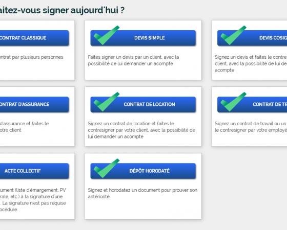 Personnalisation des procédures, API, les news de février
