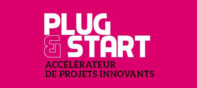 Notre pitch à l'événement Plug & Start
